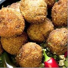 Comeauxs Pork Boudin Balls