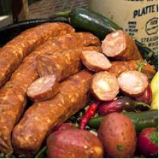 Comeaux's Smoked Pork & Jalapeno Sausage 1 lb
